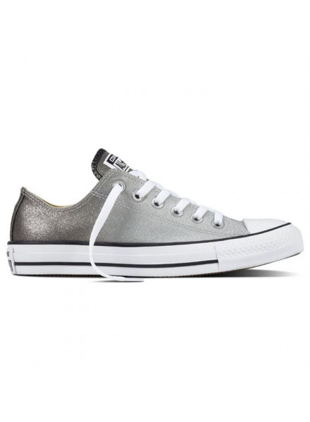 CONVERSE CHUCK TAYLOR SILVER WOMAN SHOES