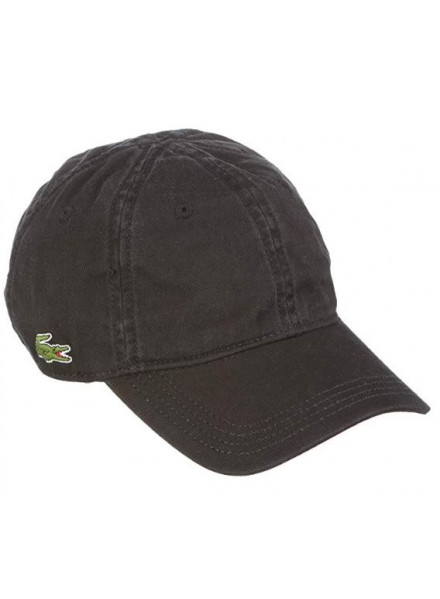 LACOSTE H. BLACK MAN HAT