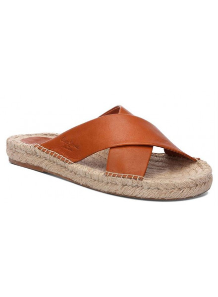 PEPE JEANS HOLLY CROSSED BROWN WOMAN