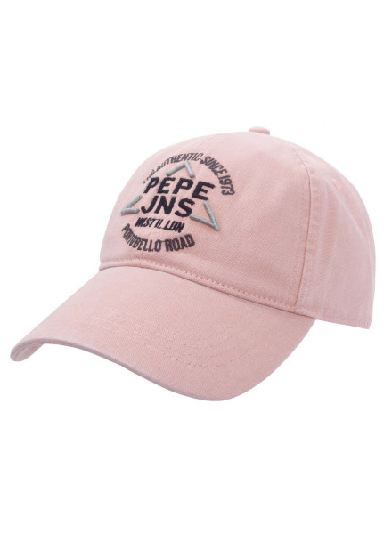 PEPE JEANS MILLINERY CROWLEY BLEACH PINK MAN HAT