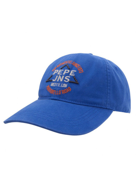 PEPE JEANS MILLINERY CROWLEY BLUE MAN HAT