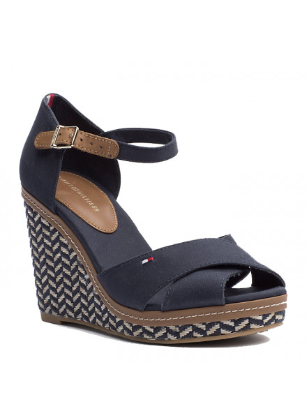 TOMMY HILFIGER SHOES ELENA MIDNIGHT BLUE WOMAN