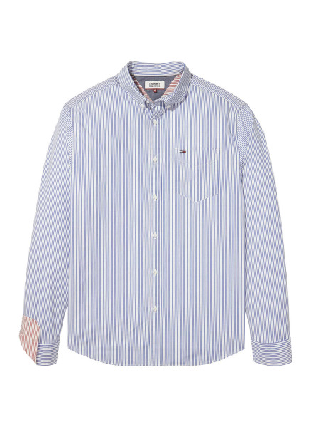 TOMMY HILFIGER CLASSIC STRIP WHITE/NAVY SHIRT