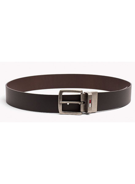 TOMMY HILFIGER REVERSIBLE BLACK-BROWN BELT