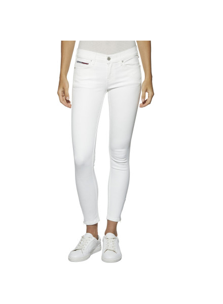 TOMMY HILFIGER SKINNY NORA WHITE STRETCH JEANS