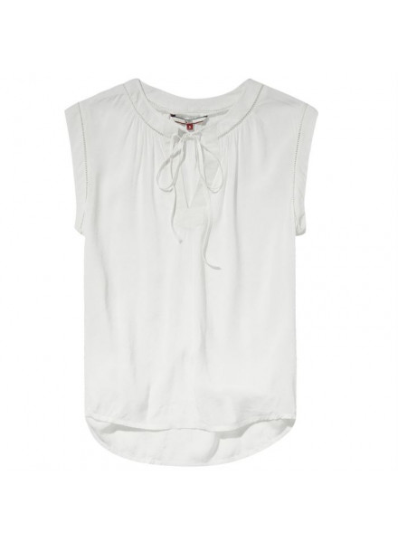 TOMMY HILFIGER ROMANTIC SNOW WHITE BLOUSE