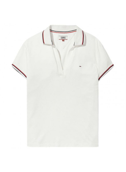TOMMY HILFIGER MODERN BRIGHT WHITE POLO