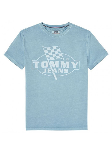 TOMMY HILFIGER FINISH LINE MAUI BLUE T-SHIRT