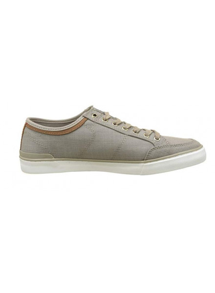 TOMMY HILFIGER MATERIAL MIX COBBLESTONE MAN SHOES