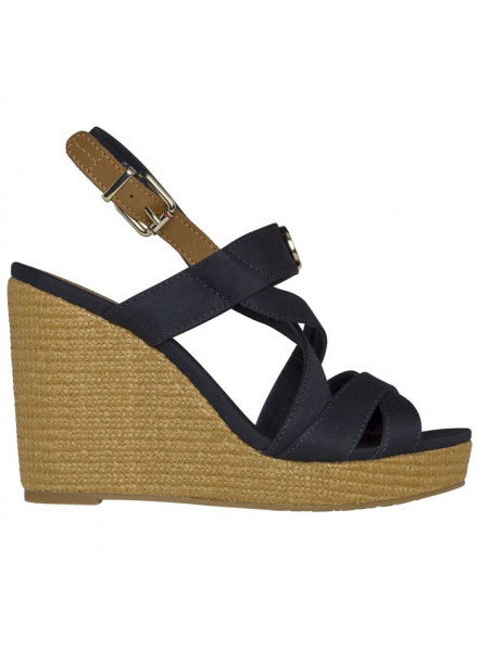 TOMMY HILFIGER ELENA HARDWARE MIDNIGHT WOMAN SHOES