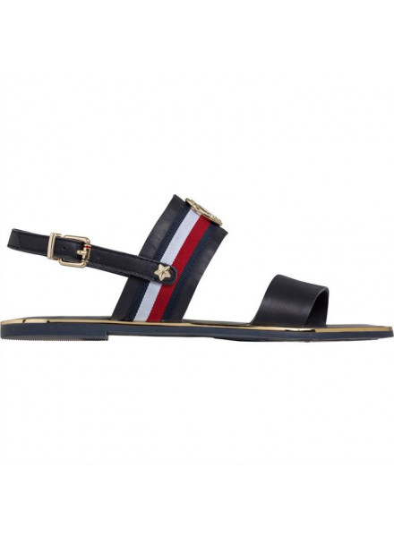 TOMMY HILFIGER CORPORATE RIBBON MIDNIGHT WOMAN SHOES