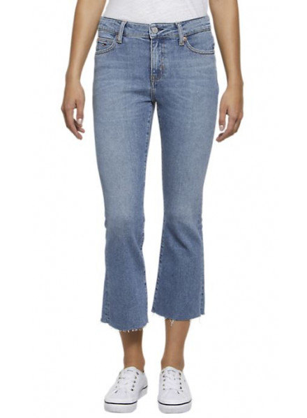 Tommy Hilfiger Crop Flare Jeans Woman