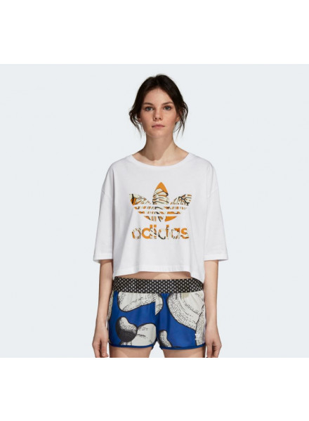 T-Shirt Adidas Cropped