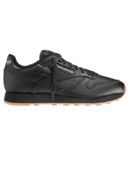 REEBOK CLASSIC LEATHER SHOES MAN BLACK