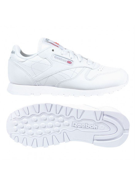 REEBOK CLASSIC LEATHER WOMAN WHITE SHOES