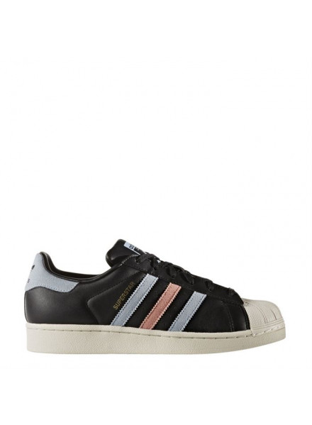 ADIDAS ORIGINALS SUPERSTAR BLACK SHOES WOMAN/JUNIOR