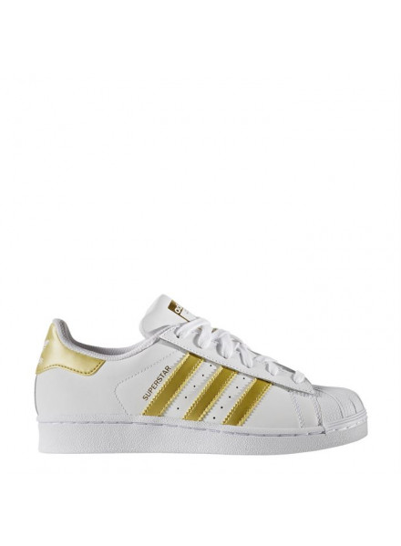 ADIDAS ORIGINALS SUPERSTARS GOLD SHOES WOMAN/JUNIOR