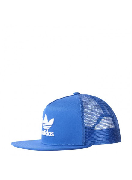 ADIDAS ORIGINALS TREFOIL TRUCKER OSFM CAP BLUE
