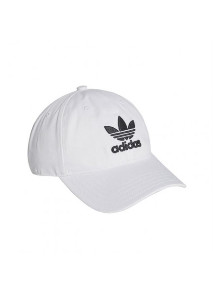 ADIDAS ORIGINALS TREFOIL WHITE CAP