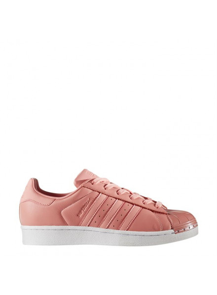 ADIDAS ORIGINALS SUPERSTAR PINK METAL TOE WOMAN/JUNIOR