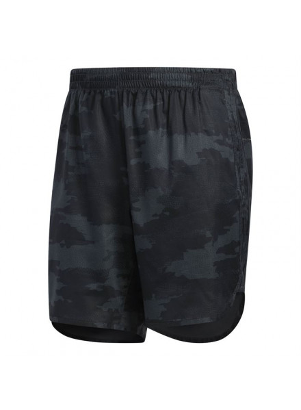 ADIDAS TKO RUNNING CARBON GREY SHORTS