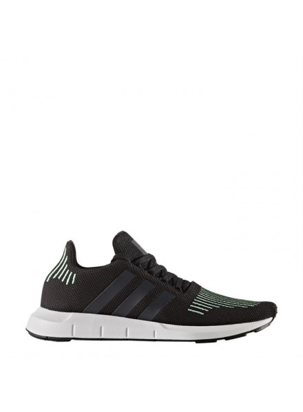 ADIDAS ORIGINALS SWIFT RUN BLACK SHOES MAN
