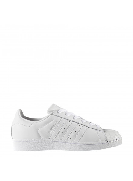 ADIDAS ORIGINALS SUPERSTAR WHITE METAL TOE SHOES WOMAN/JUNIOR