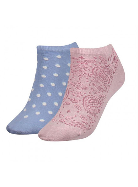 TOMMY HIFIGER PAISLEY DO LILAC HINT SOCKS