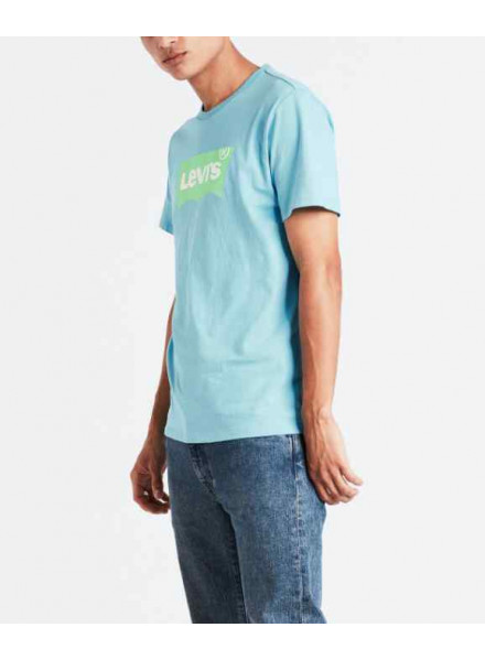 LEVIS HOUSEMARK GRAPHIC NORSE BLUE T-SHIRT