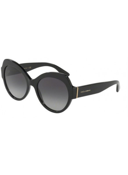 DOLCE & GABBANA DG4320 BLACK/GREY GRADIENT S.56