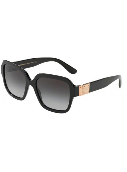 DOLCE & GABBANA DG4336 BLACK/GREY GRADIENT S.56