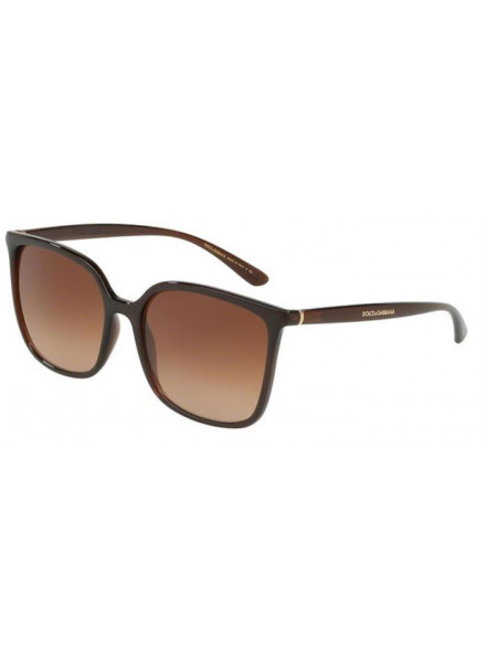 DOLCE & GABBANA DG6112 TRANSPARENT BROWN/BROWN GRA S.56