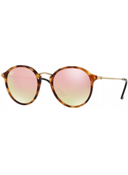 RAYBAN ROUND/CLASSIC SPORTTED BROWN HAVANA 2447 49 116070