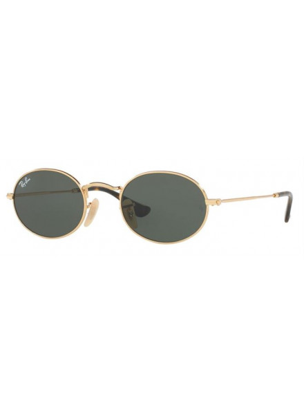 RAYBAN OVAL GOLD S.51