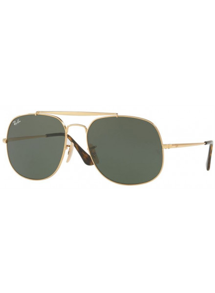 RAYBAN THE GENERAL GOLD S.57