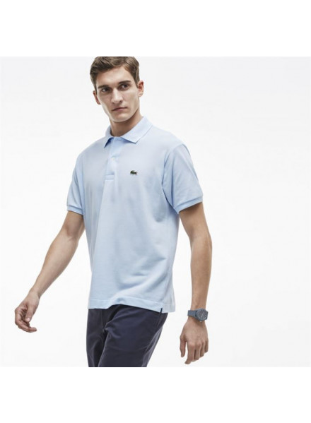 LACOSTE POLO LIGHT BLUE M/C L1212-00