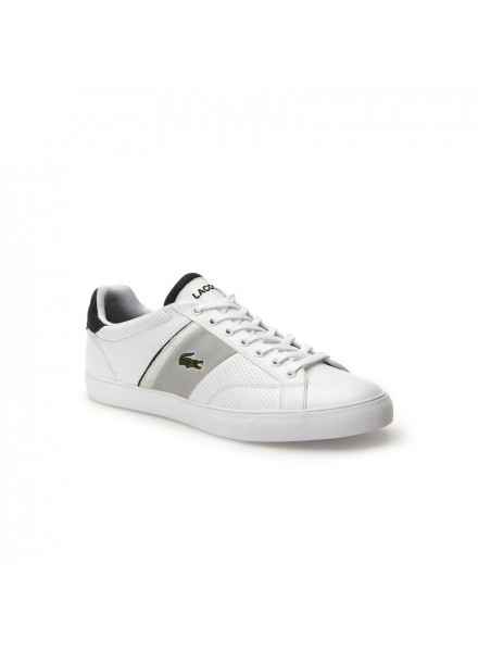 LACOSTE FAIRLEAD 118 1 SHOES MAN WHITE