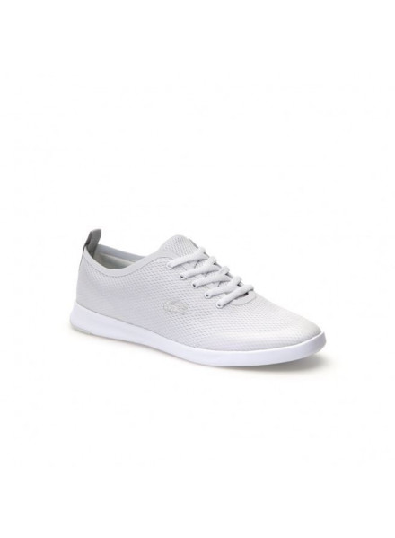 LACOSTE AVENIR 118 1 WHITE SHOES WOMAN
