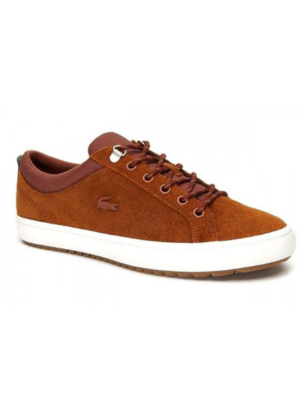 Zapatillas Lacoste Straightsetinsula Brown/White