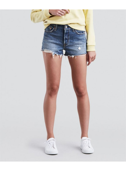 LEVIS TO YOURHE JEANS SHORT WOMAN