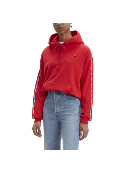 Levis Unbasic Red Sweatshirt