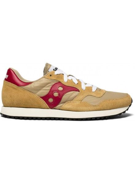 SAUCONY TRAINER VINTAGE TAN/RED MAN SHOES