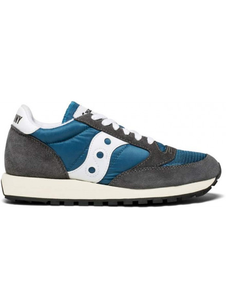 SAUCONY JAZZ ORIGINAL VINTAGE BLUE AND GREY WOMAN SHOES