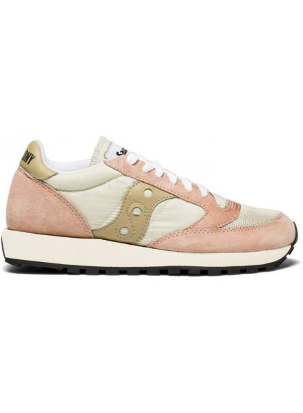 SAUCONY JAZZ ORIGINAL VINTAGE PINK & GOLD WOMAN SHOES