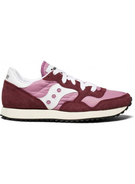 SAUCONY JAZZ ORIGINAL VINTAGE PURPLE AND PINK WOMAN SHOES