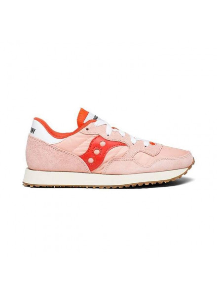 SAUCONY DXN TRAINER VINTAGE PINK SHOES WOMAN