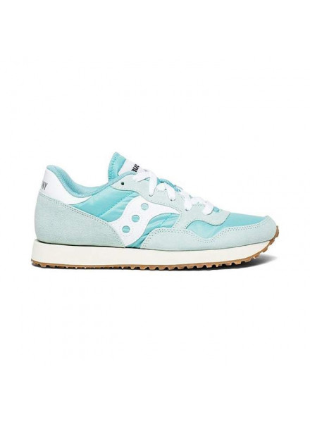 SAUCONY DXN TRAINER VINTAGE BLUE SHOES WOMAN