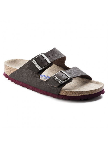 BIRKENSTOCK ARIZONA BROWN SANDALS MAN