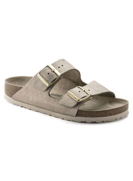 BIRKENSTOCK ARIZONA ROSE GOLD WOMAN SHOES