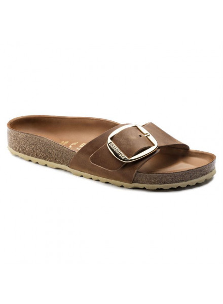 BIRKENSTOCK MADRID BIG BUCKIE COGNAC WOMAN SANDALS